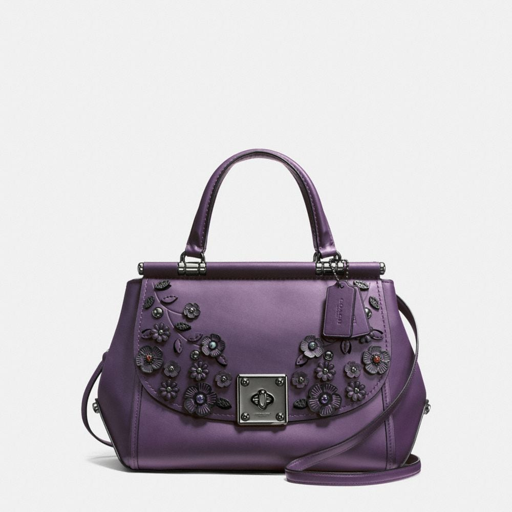 DRIFTER CARRYALL IN MIXED MATERIALS WILLOW FLORAL