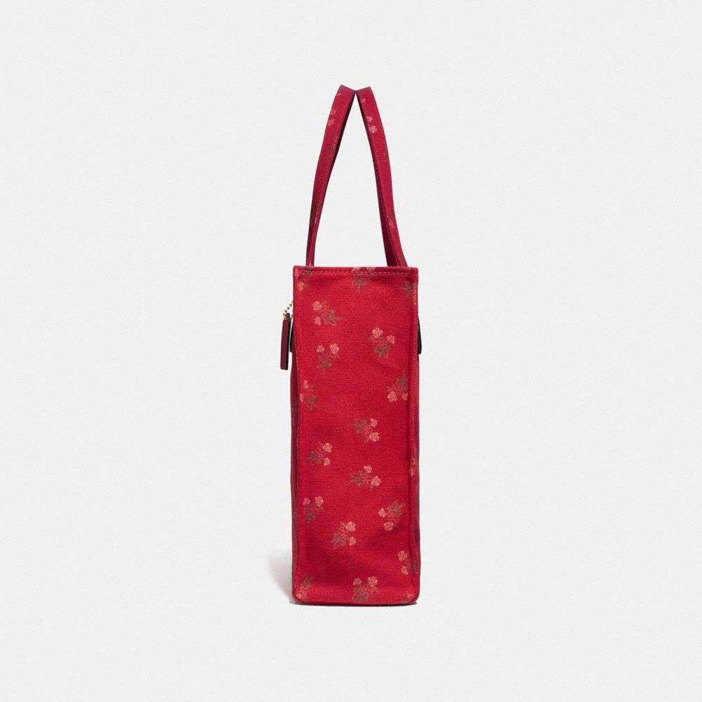 Coach Lunar New Year Tote With Pig Motif Alternate View 1