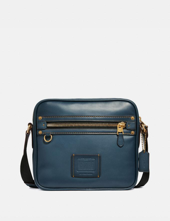 Coach Dylan 27 Denim/Messing Herren Taschen