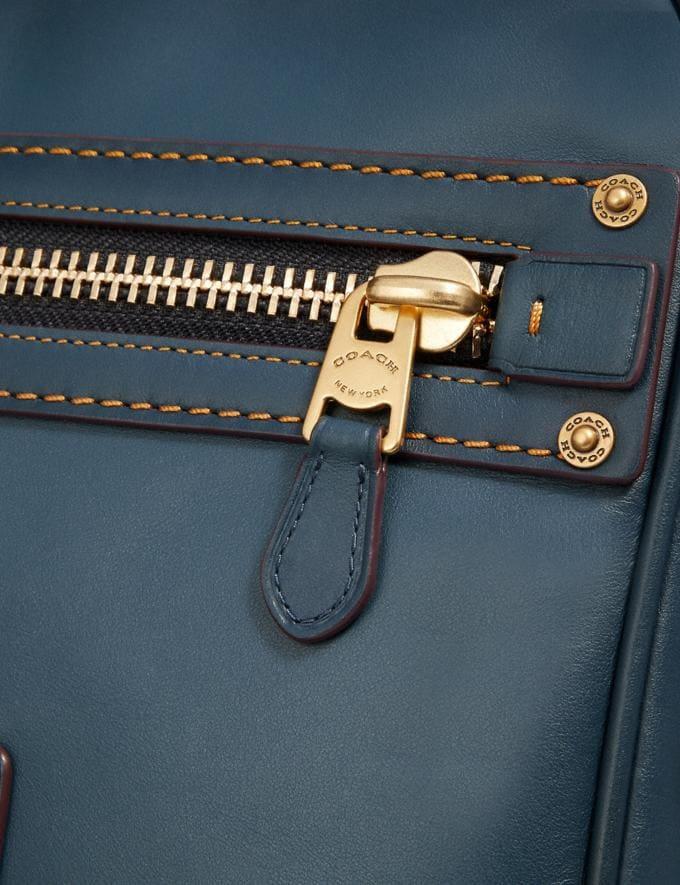 Coach Dylan 27 Denim/Brass Men Bags Messenger Bags Alternate View 4