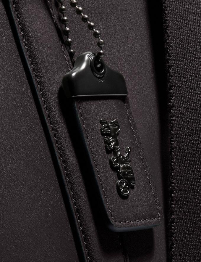 Coach Metropolitan Tote Black Copper/Oak New Men's New Arrivals Bags Alternate View 4
