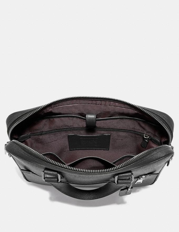 Coach Kennedy Brief Heather Grey/Silver  Alternate View 2