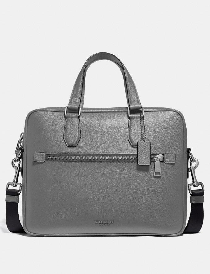 Coach Kennedy Brief Heather Grey/Silver