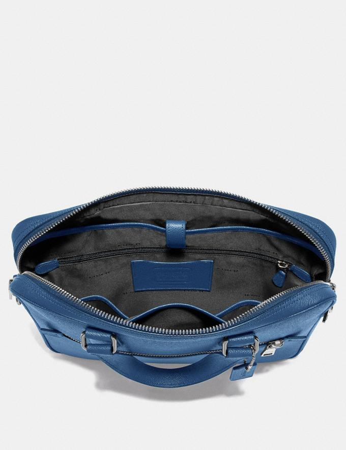 Coach Kennedy Brief True Blue/Silver Cyber Monday Men's Cyber Monday Sale Bags Alternate View 2