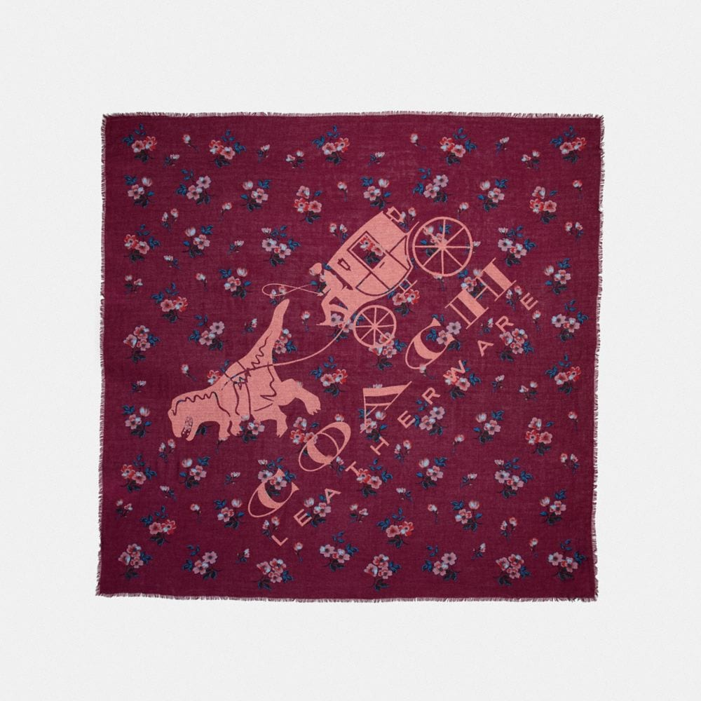 REXY PATCHWORK OVERSIZED SQUARE