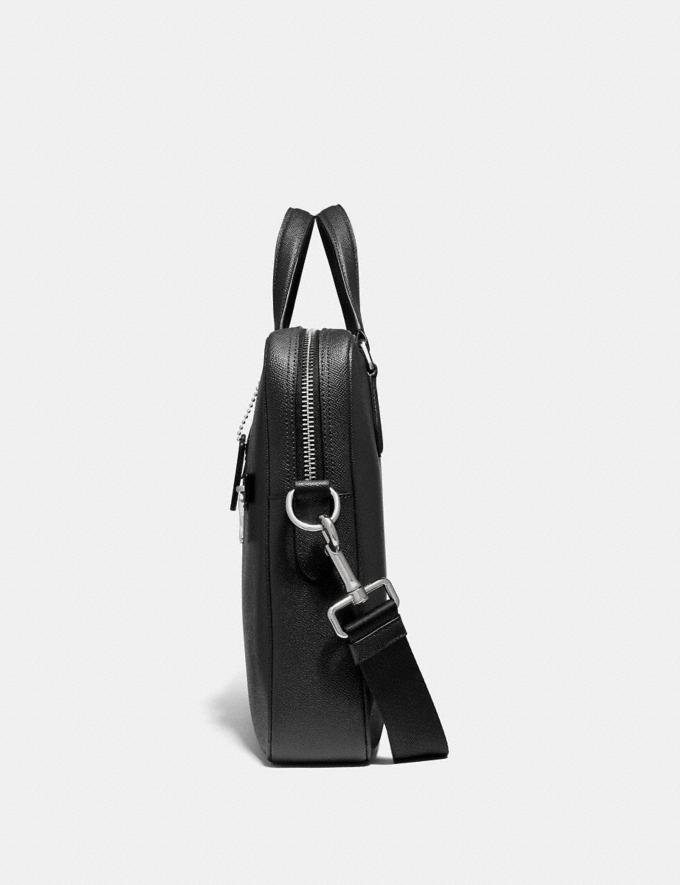 Coach Porte-Documents Kennedy 40 Noir/ArgentÉ Homme Sacs Porte-documents Autres affichages 1
