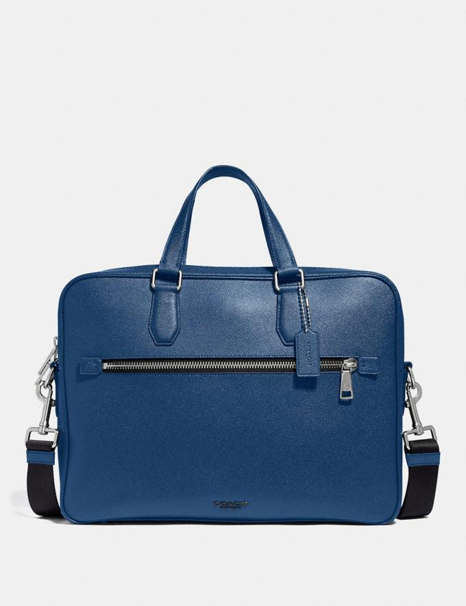 Coach Kennedy Brief 40 Sv/True Blue PRIVATE SALE Men's Sale Bags