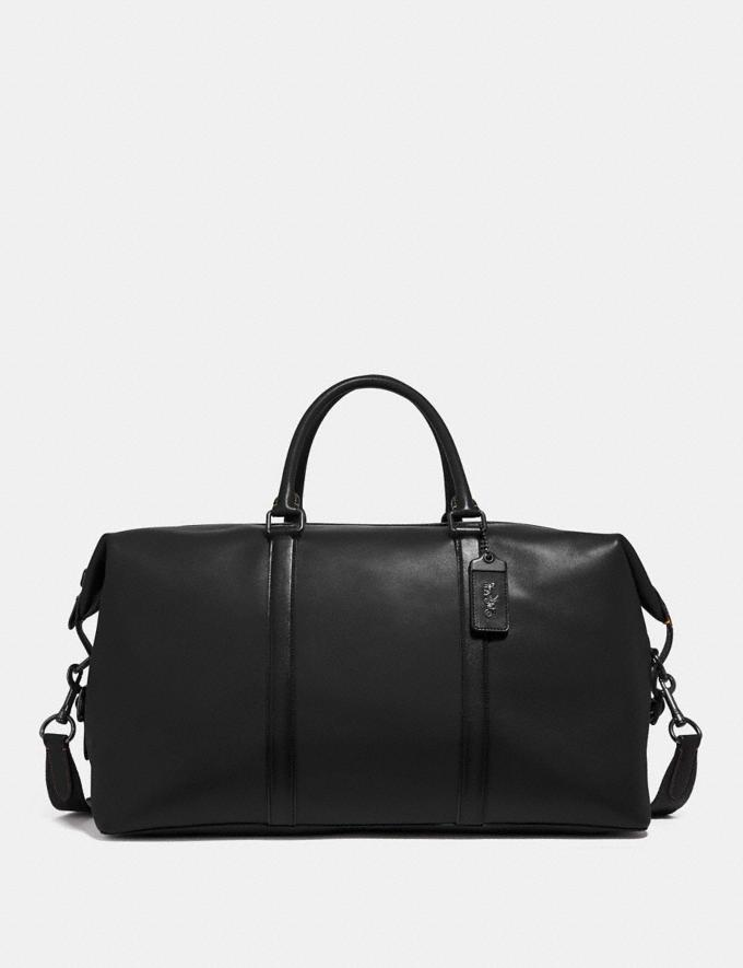 Coach Metropolitan Duffle 52 Black/Black Copper Men Bags
