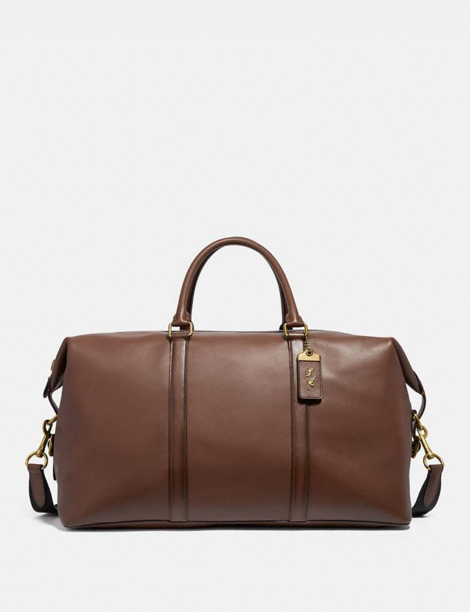 Coach Metropolitan Duffle 52 Saddle/Brass Cyber Monday Men's Cyber Monday Sale Accessories