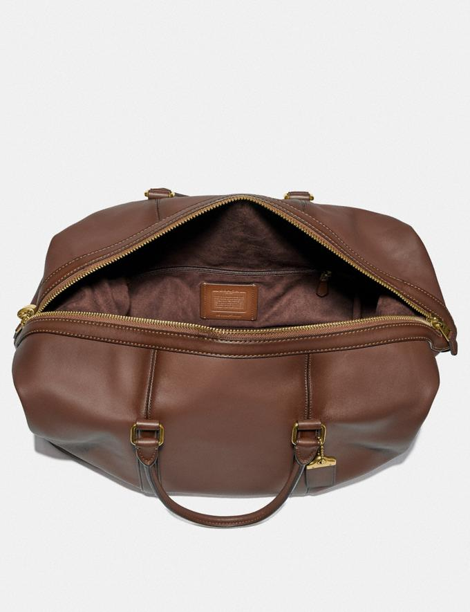 Coach Metropolitan Duffle 52 Saddle/Brass Cyber Monday Men's Cyber Monday Sale Accessories Alternate View 2