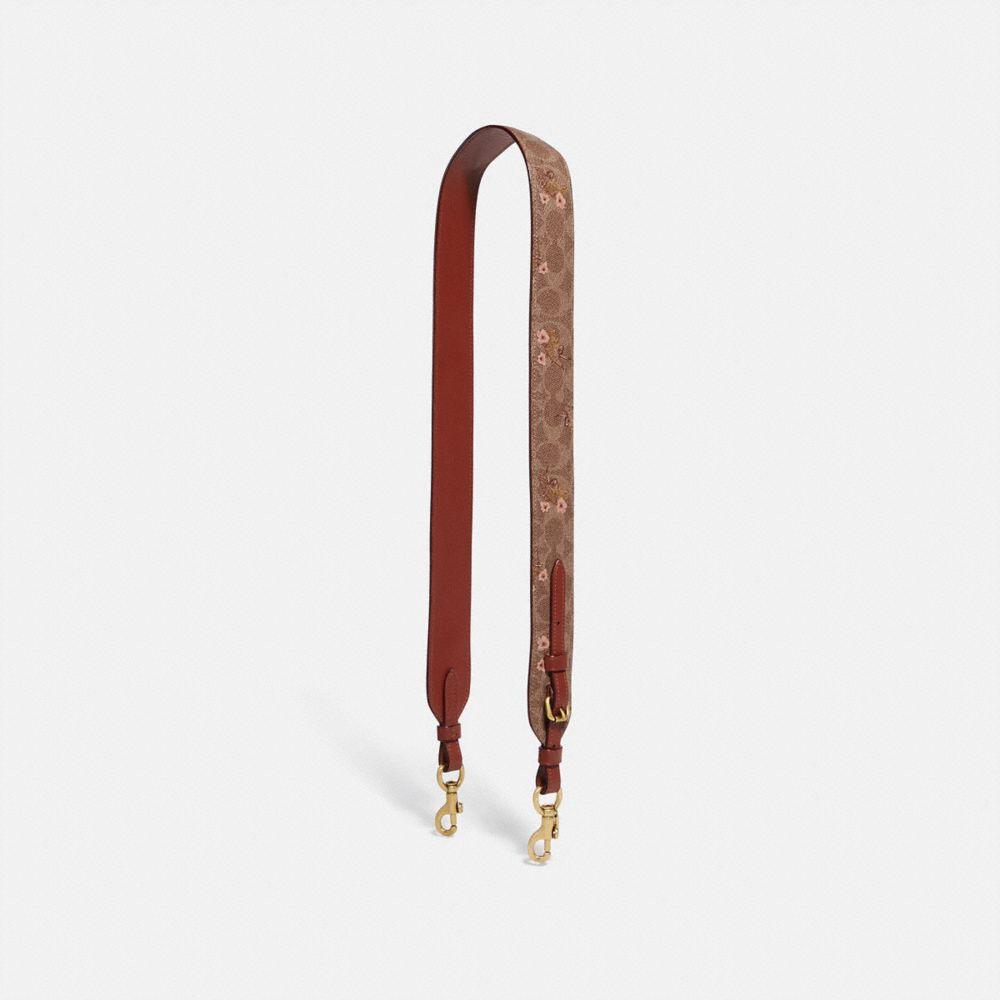 tan/rust bow/brass