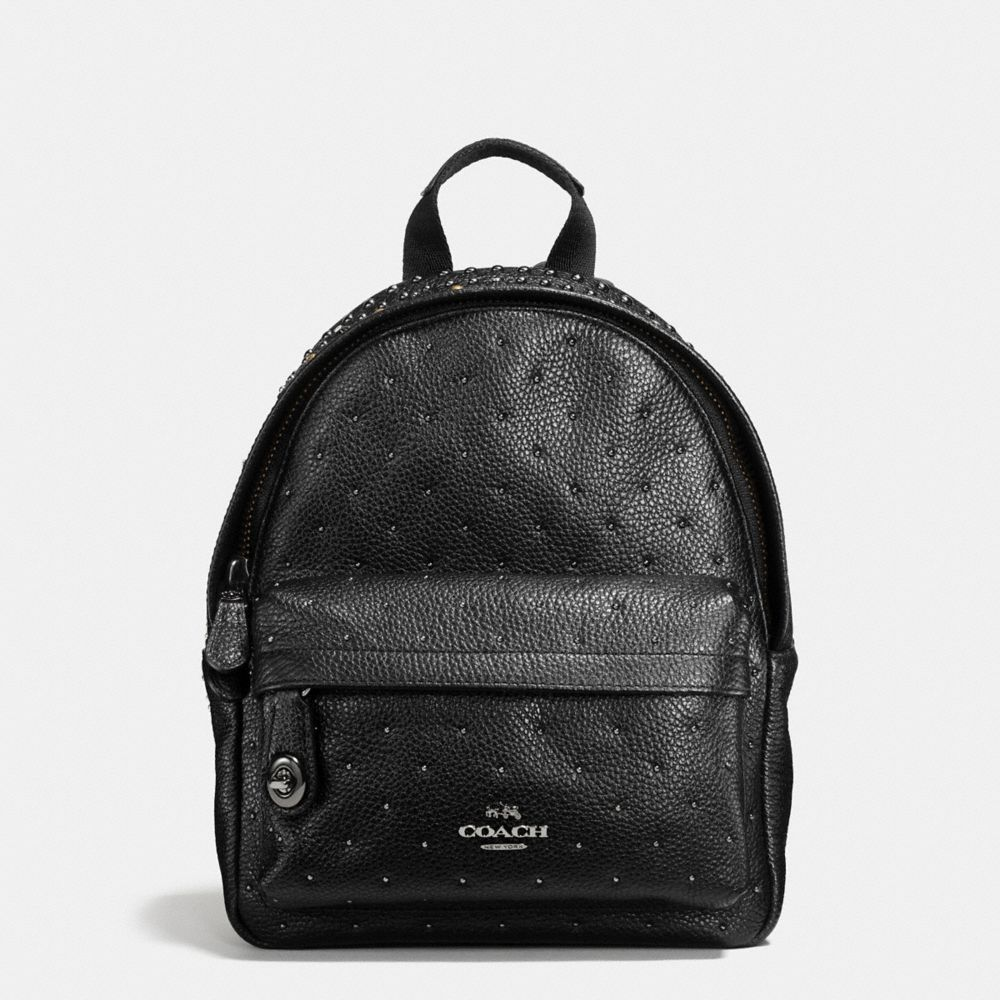 Mini Campus Backpack With Bandana Rivets