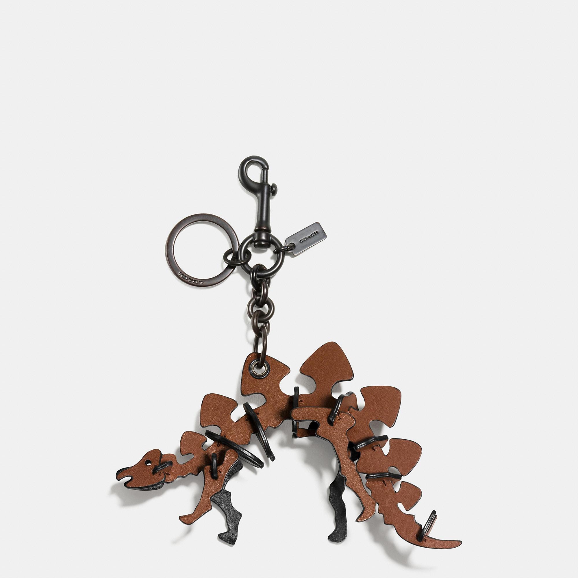 Coach Small Stegosaurus Charm