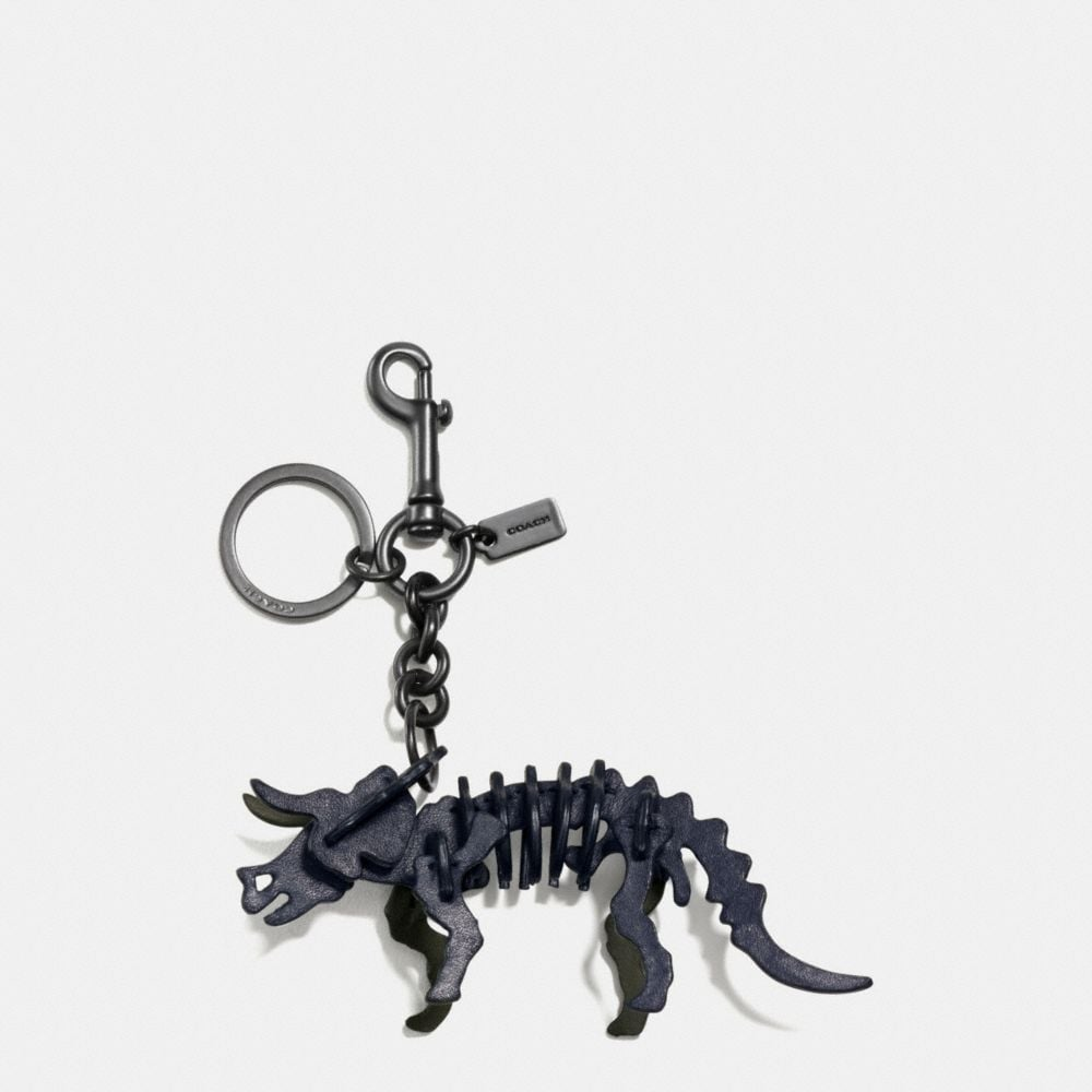 Coach Small Triceratops Charm