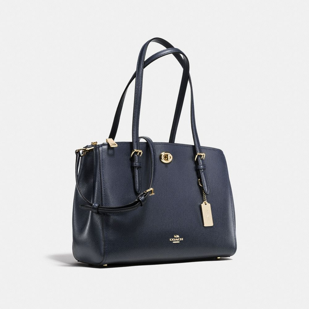 TURNLOCK CARRYALL 29 IN CROSSGRAIN LEATHER - Alternate View A2