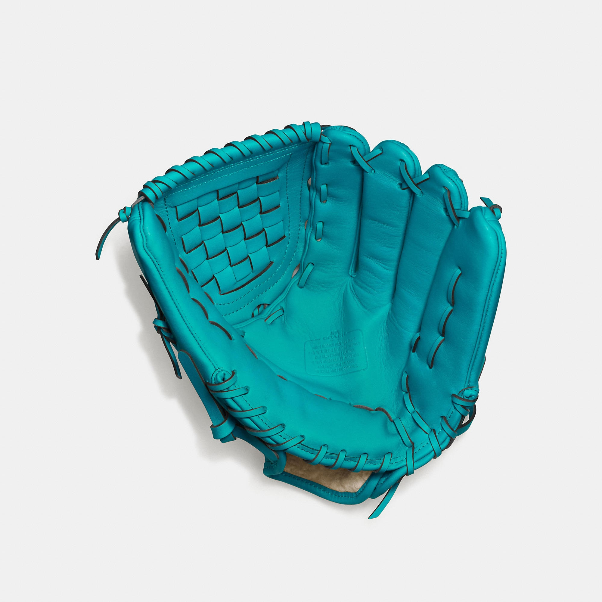 Coach Baseball Glove In Glovetanned Leather