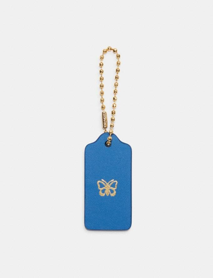 Coach Add-On Monogram Hangtag Lapis/Lapis DEFAULT_CATEGORY