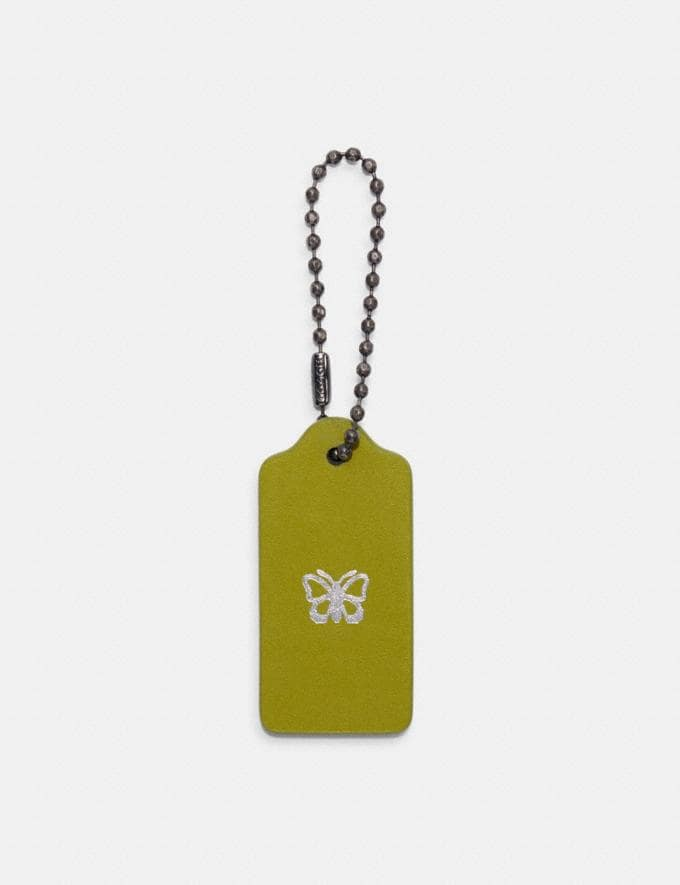 Coach Add-On Monogram Hangtag Citrine DEFAULT_CATEGORY