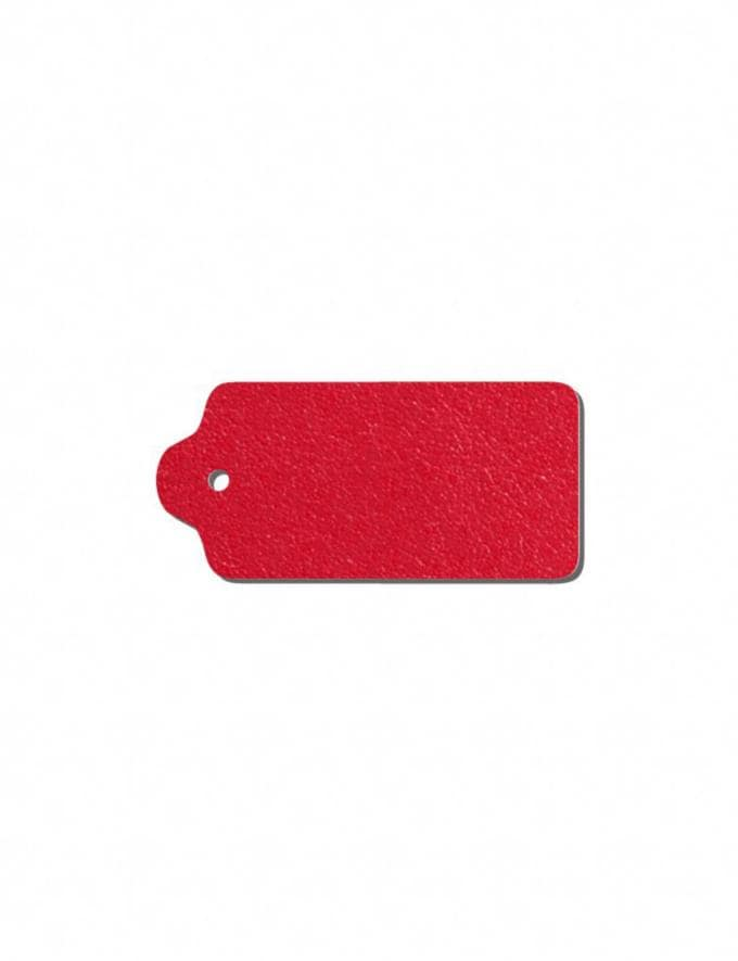Coach Add-On Monogram Hangtag True Red/Gold DEFAULT_CATEGORY