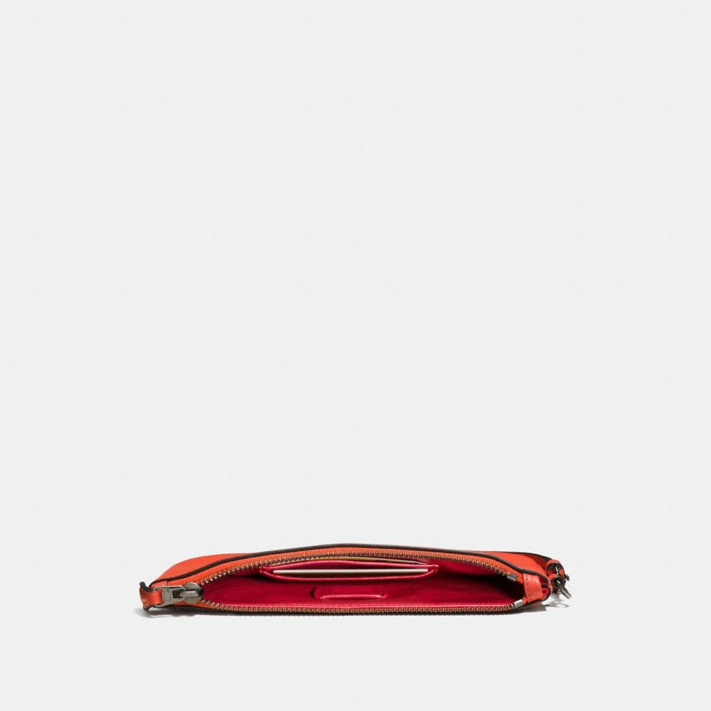 Coach Small Wristlet in Glovetanned Leather Alternate View 1