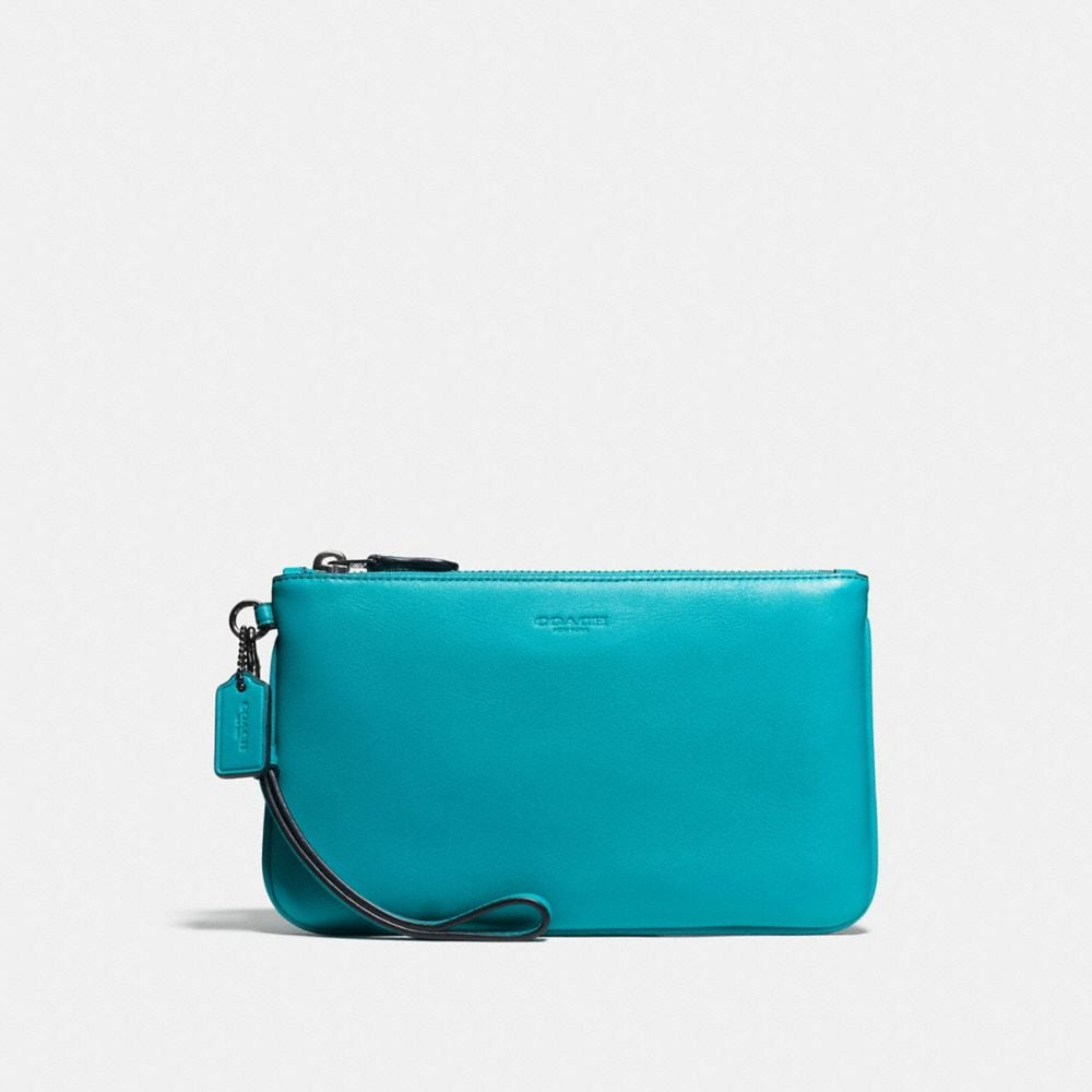 Coach Small Wristlet in Glovetanned Leather