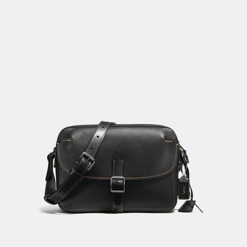 Coach Gotham Crossbody in Pebble Leather