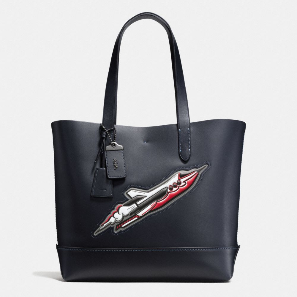 Rocket Ship Gotham Tote in Glovetanned Leather
