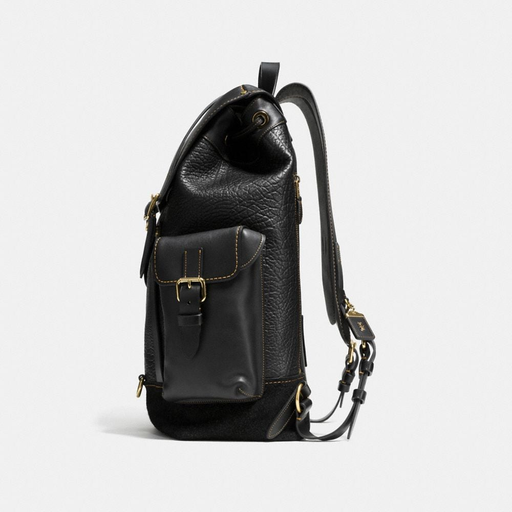 Gotham Backpack in Mixed Materials - Autres affichages A1