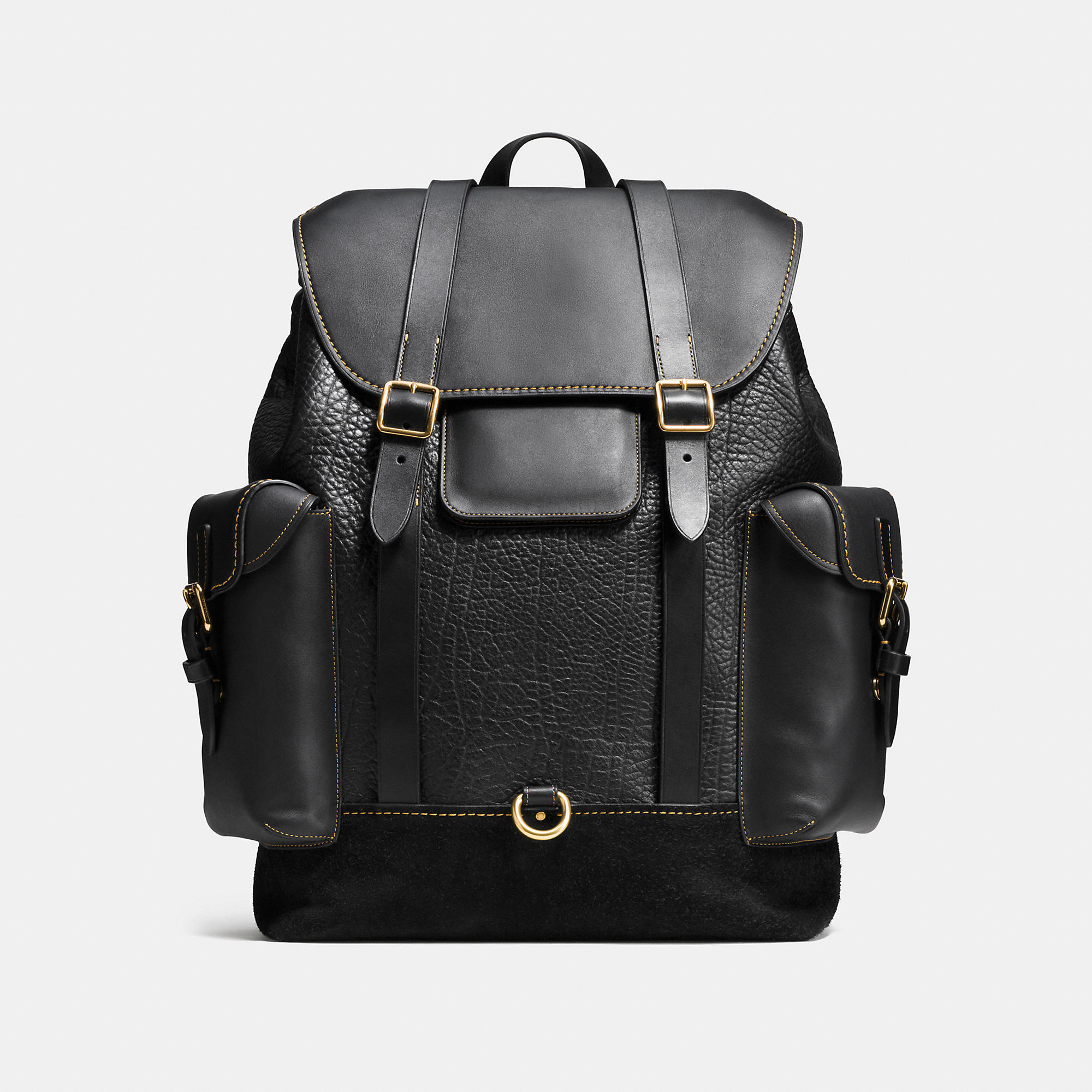Coach Gotham Backpack In Mixed Materials