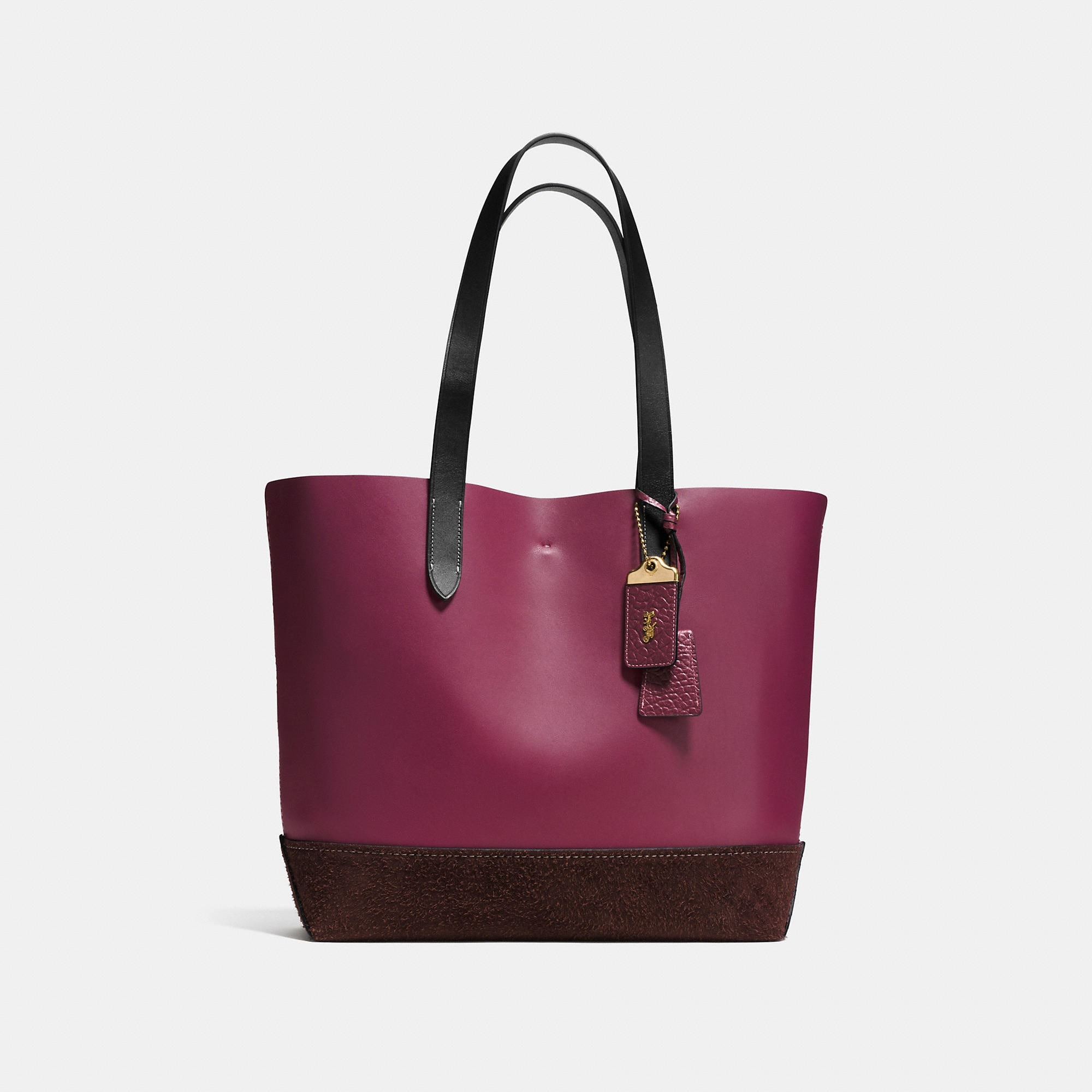Coach Gotham Tote In Mixed Materials