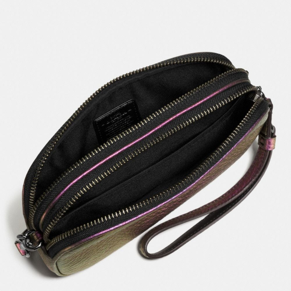 Crossbody Clutch in Hologram Leather - Alternate View A1