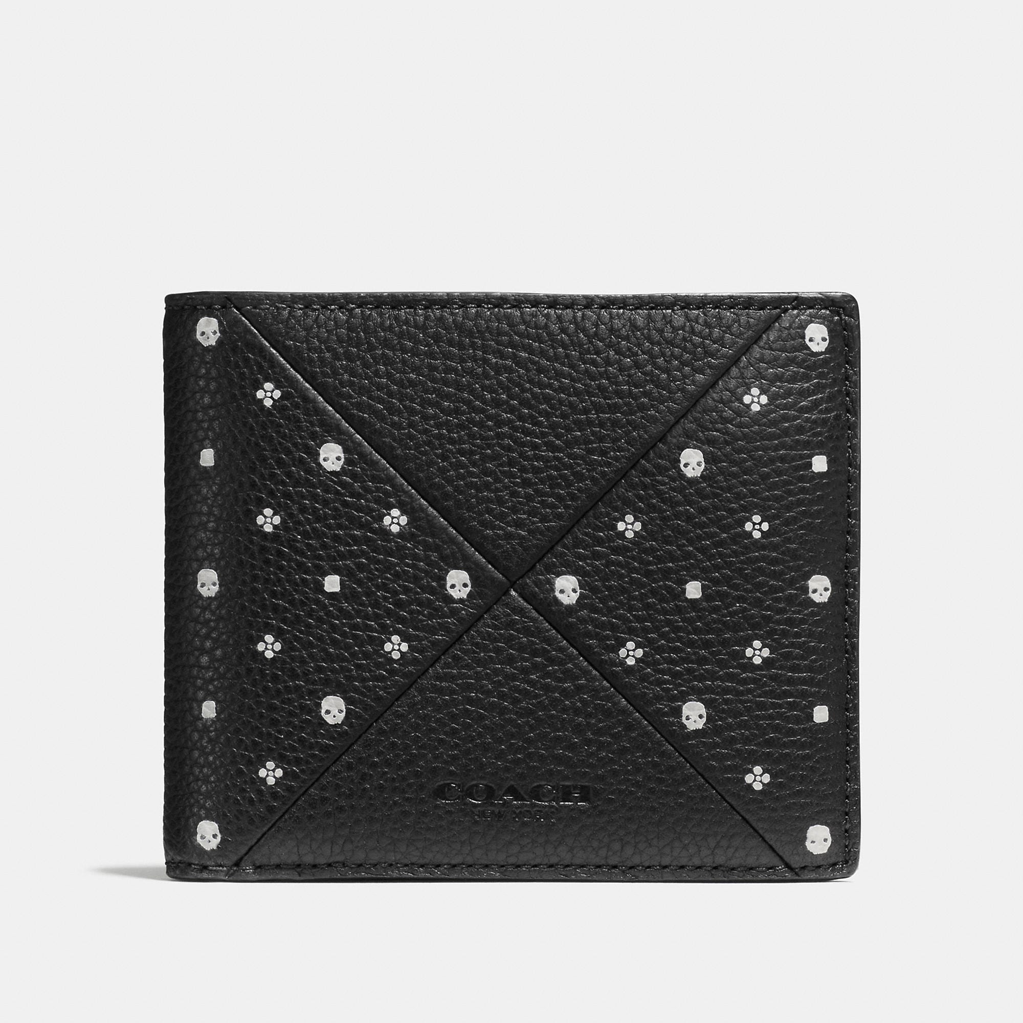 Coach 3-in-1 Wallet In Bandana Patchwork Leather