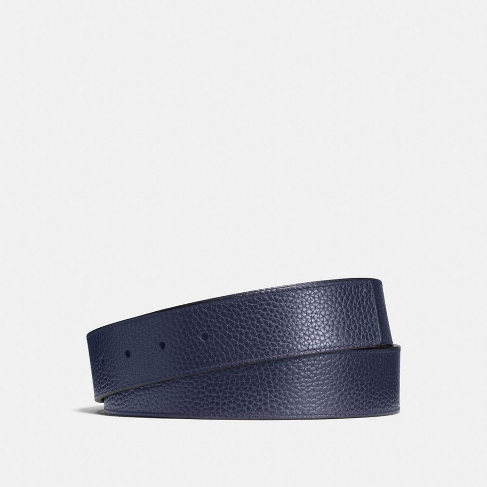 Coach Cut-To-Size Reversible Belt Strap