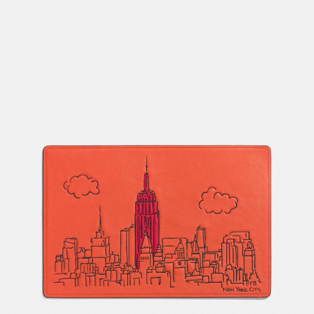 Coach New York Postcard
