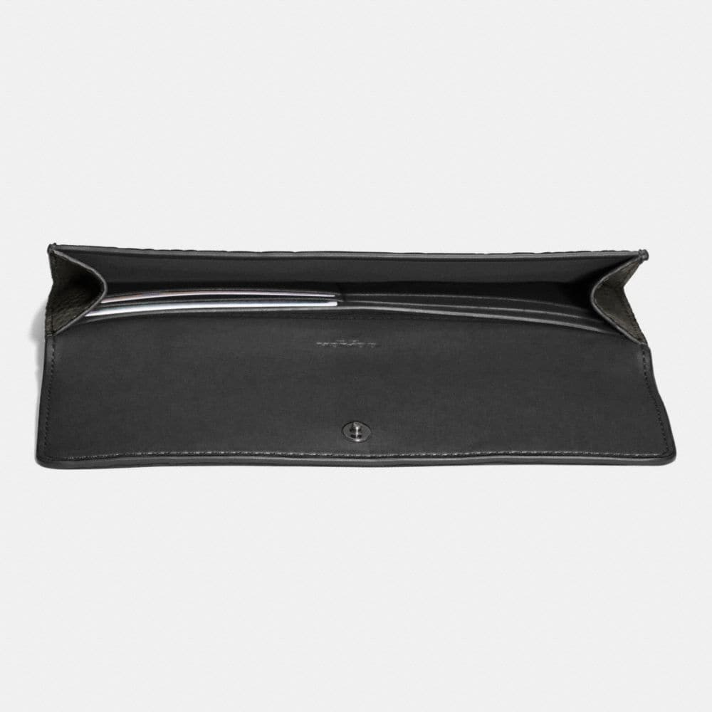 Soft Wallet in Exotic Embossed Leather - Alternate View L1