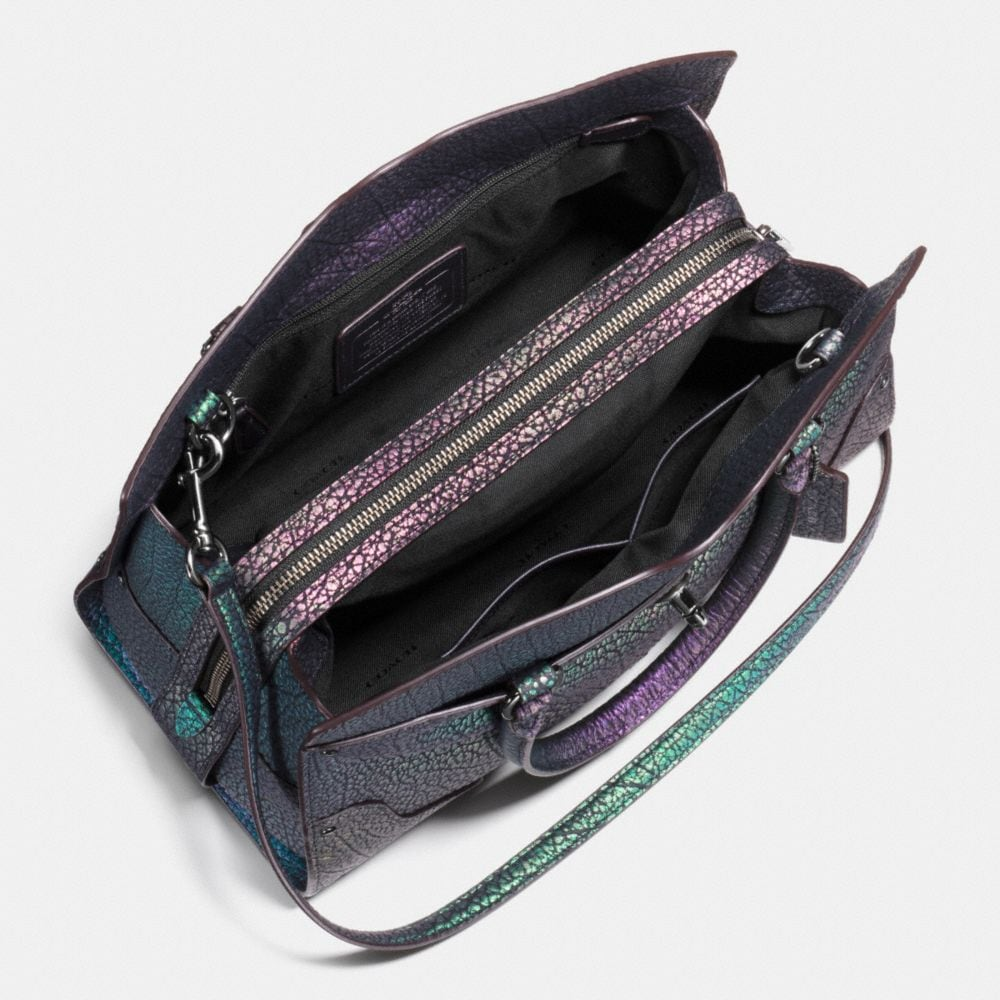 Mercer Satchel 30 in Hologram Leather - Alternate View A2