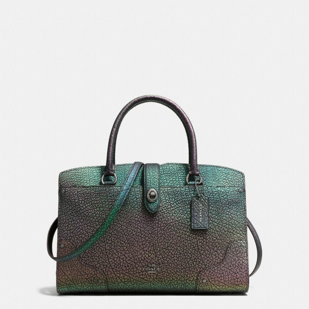 MERCER SATCHEL 30 IN HOLOGRAM LEATHER