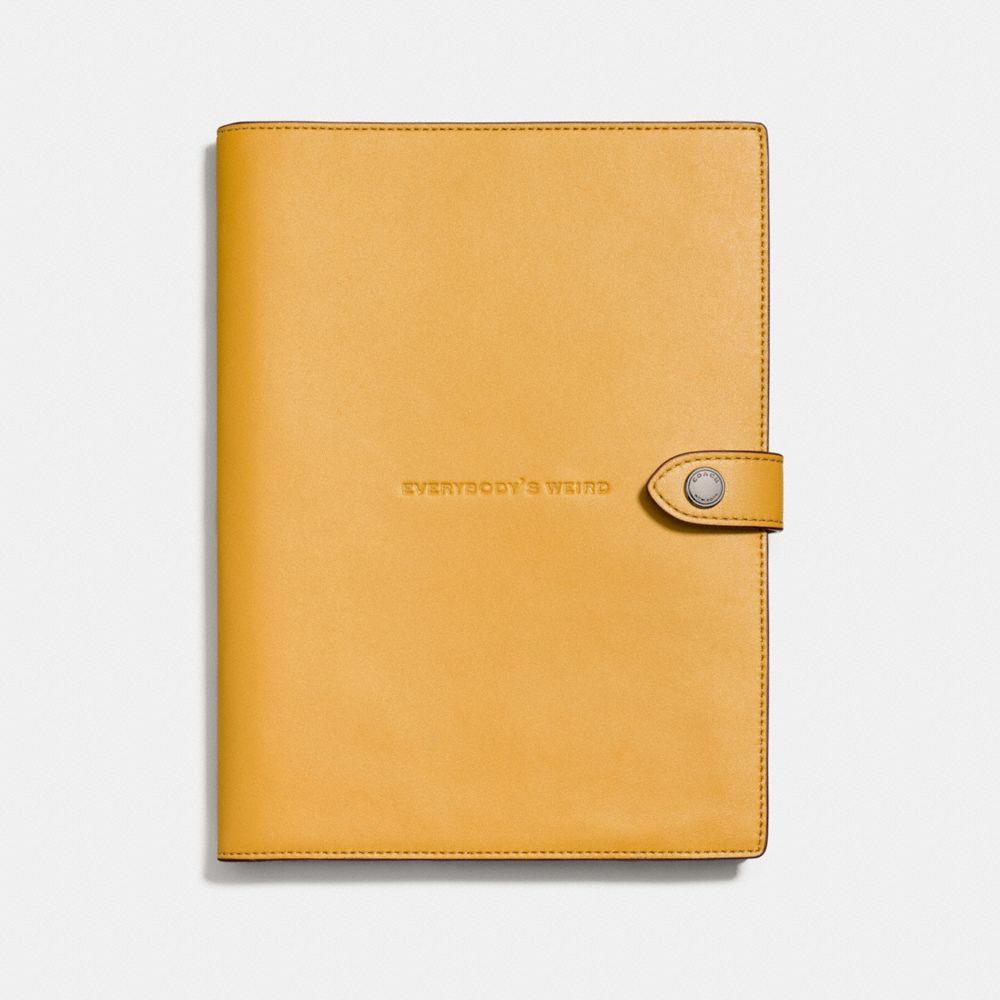 Sketchbook in Glovetanned Leather