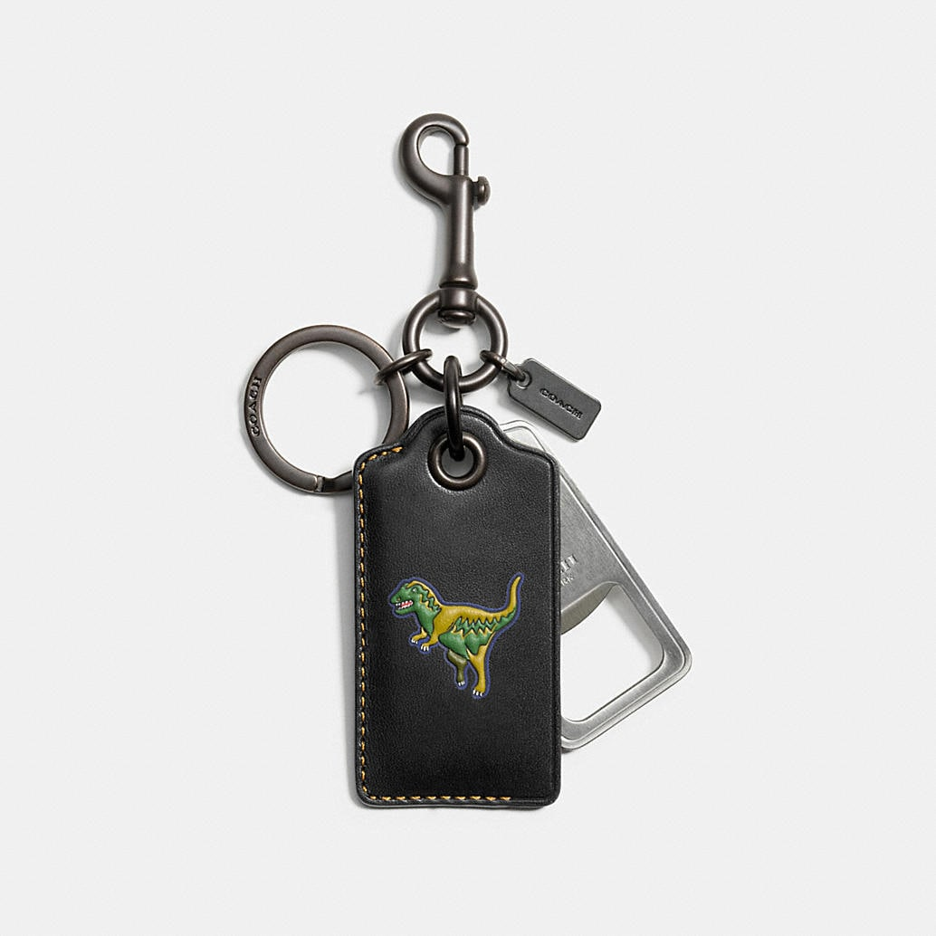 coach mens keychains rexy bottle opener. Black Bedroom Furniture Sets. Home Design Ideas