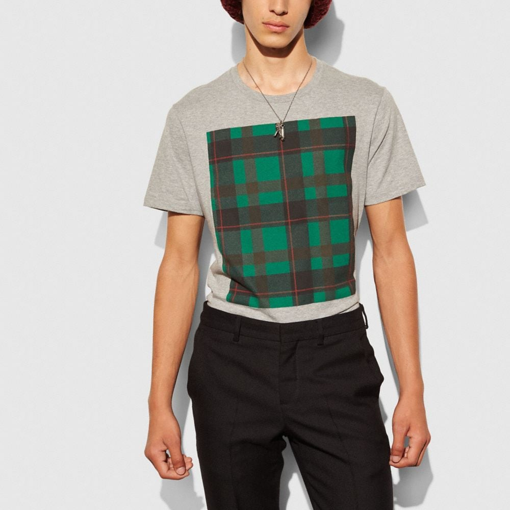 Plaid Tee Shirt