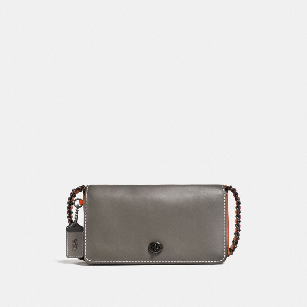 Colorblock Dinky Crossbody in Mixed Material