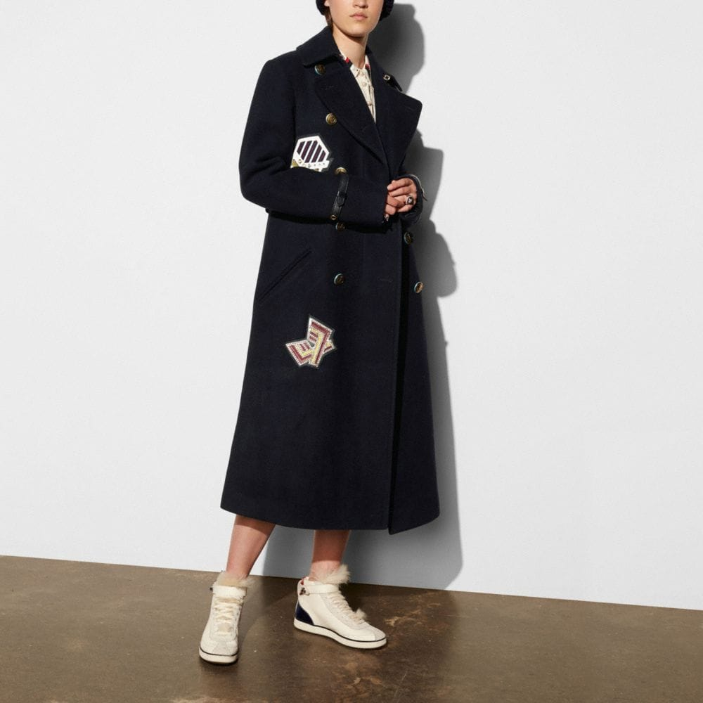Coach Naval Long Coat