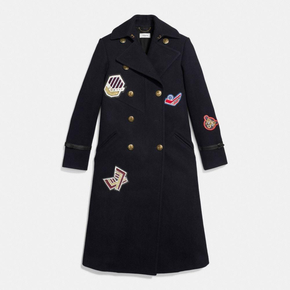 Naval Long Coat - Autres affichages A1
