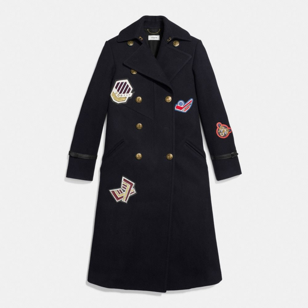NAVAL LONG COAT - Alternate View A1