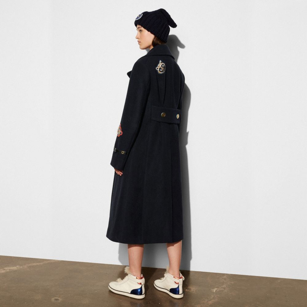Naval Long Coat - Alternate View M