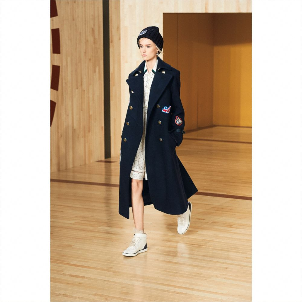 Naval Long Coat - Alternate View M2