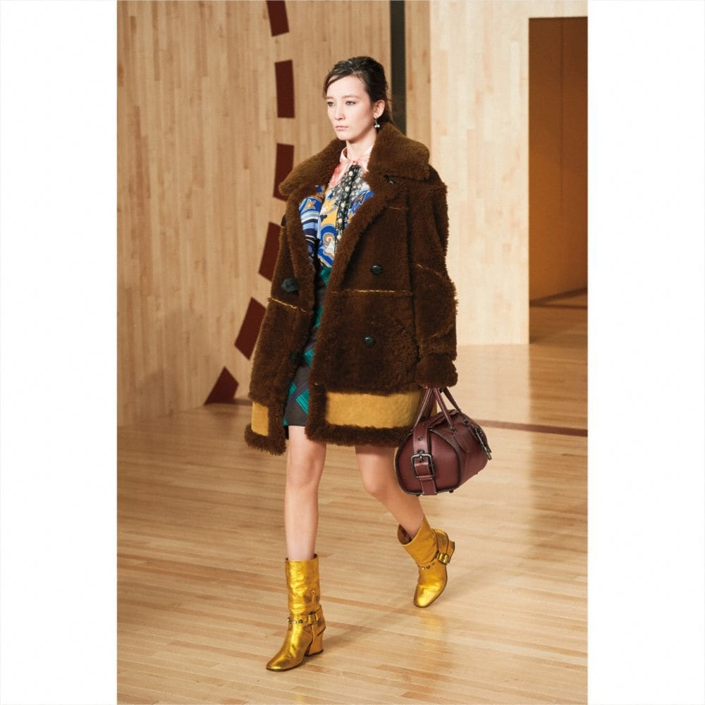 Inside Out Shearling Coat - Autres affichages M2