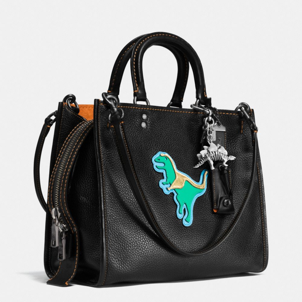Dino Rogue Bag in Glovetanned Pebble Leather - Alternate View A3
