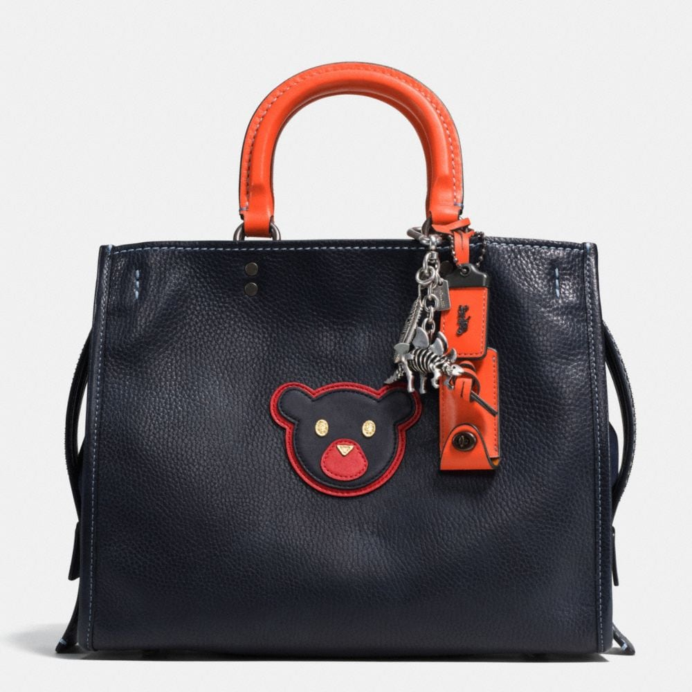 Bear Rogue Bag in Glovetanned Pebble Leather - Alternate View A1