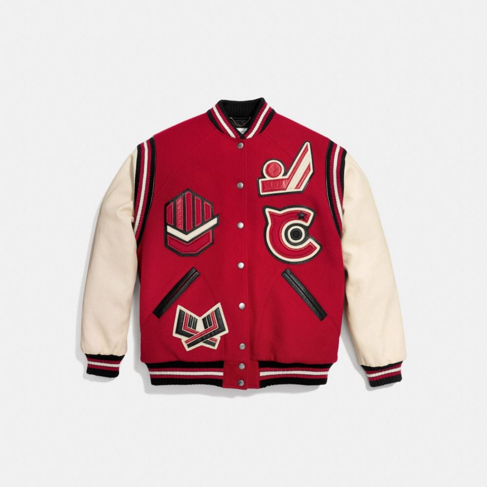 Oversized Varsity Jacket - Autres affichages A1